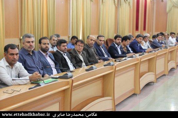 جمعیت استان بوشهر در سال 95 گزارش تصویری/جلسه شورای اداری شهرستان دشتستان - اتحاد خبر