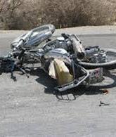 واژگونی موتورسیکلت، 2 کشته و زخمی به جای گذاشت