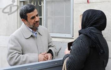 این روزها در میدان 72 نارمک چه می گذرد؟ / احمدی نژاد قول وام 2 میلیونی به مردم می دهد!