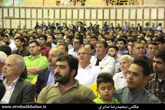 سخنرانی حجت الاسلام رزمجو در مراسم تقدیر مجمع اصلاح طلبان و ستاد انتخاباتی محمد باقر سعادت از شکوه حضور مردم