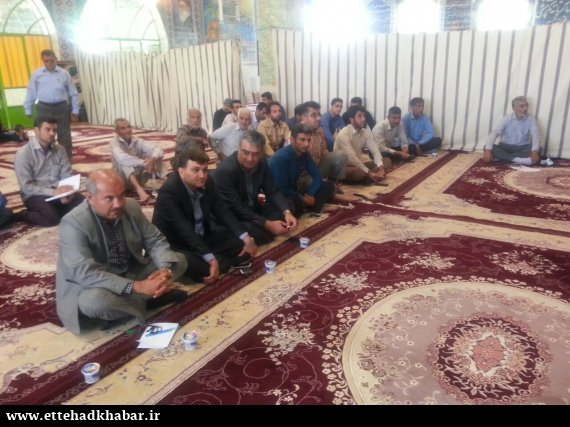برگزاری همایش تغذیه در شهر وحدتیه با حضور علی نظر نامی نظری