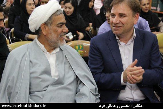 تصاویری از مراسم تقدیر فعالان مدنی از حجت الا سلام حاج حسین رزمجو