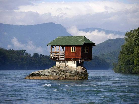 جالب ترین خانه های دنیا /تصاویر