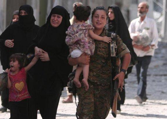 تصاویر: روایت عکاسان رویترز از جنگ علیه داعش