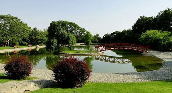 زیباترین باغ گیاه شناسی ایران