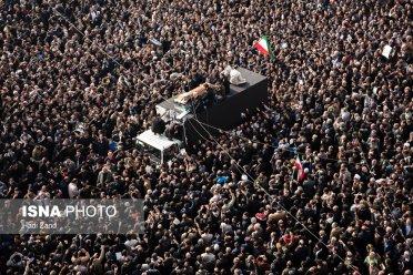تصاویر: حضور میلیونی مردم در مراسم تشییع و تدفین آیتالله هاشمی رفسنجانی