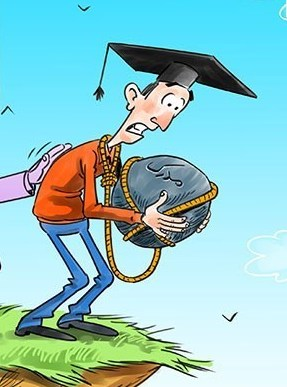 کاریکاتور/ سقوط به دریای بیکران!!!