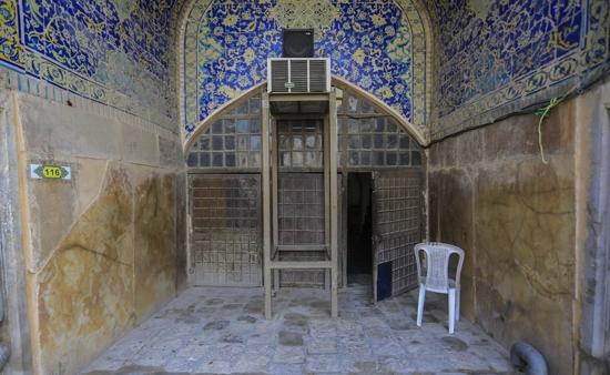 سازه کشف شده زیر میدان امام اصفهان