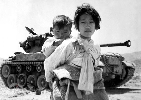 تصاویری از جنگ آمریکا با کره شمالی در سال 1950
