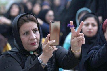 گزارش تصویری/افتتاح ستاد انتخاباتی بانوان دکتر روحانی در دشتستان