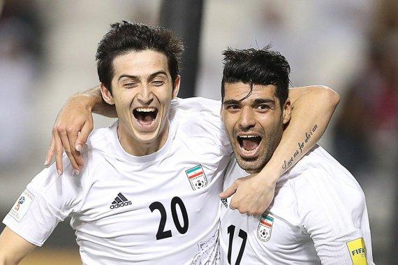 جشن صعود تیم ملی به جام جهانی روسیه