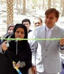 بهره برداری از طرح آبیاری تحت فشار با حضور فرماندار دشتستان +تصاویر