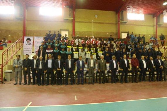 برگزاری یک دوره مسابقه فوتسال در شرکت توزیع برق استان بوشهر
