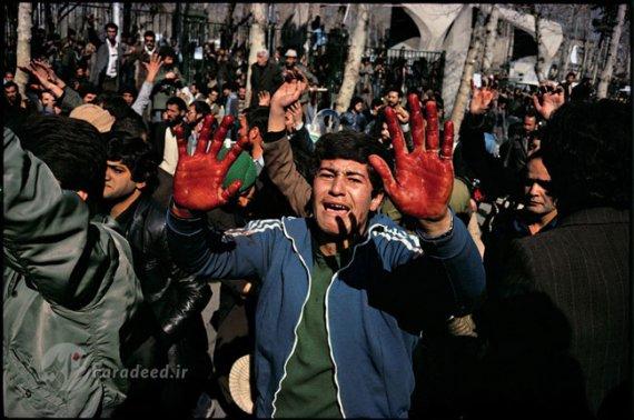 روزهای انقلاب به روایت عکاس امریکایی