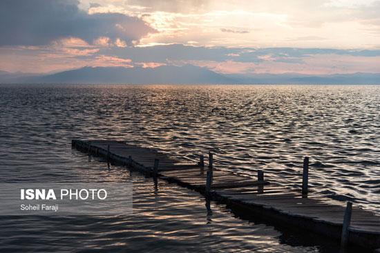 حالِ خوشِ «دریاچه ارومیه»