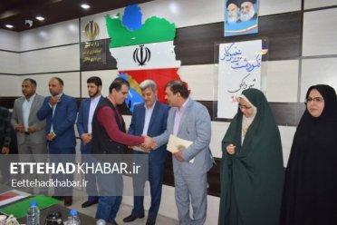 تجلیل از خبرنگاران دشتستان در شهرداری دالکی/ تصاویر اختصاصی اتحاد خبر