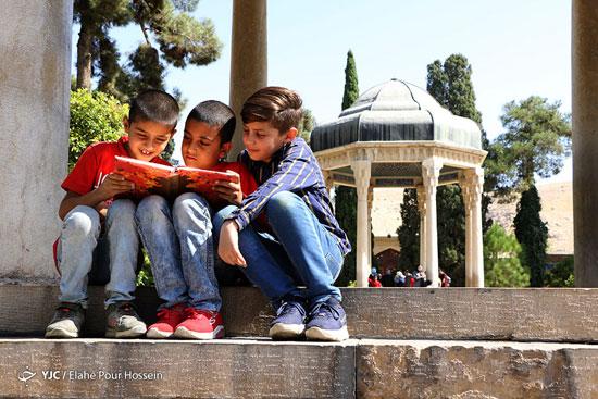 تصاویری زیبا از تفأل حافظ
