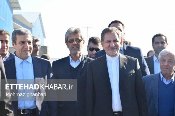 تصاویر اتحاد خبر از سفر معاون اول رئیس جمهوری به استان بوشهر