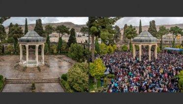 مقایسه تصویری شیراز ۹۸ و ۹۹ در نوروز