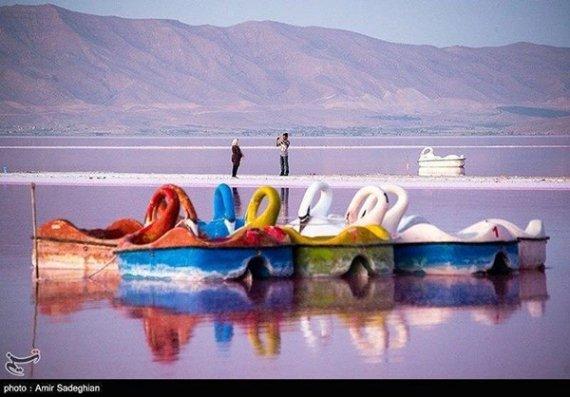تصاویر؛ بهشت جدید شیراز، دریاچه مهارلو