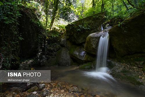 ایران زیباست؛ آبشار «بهشت باران»
