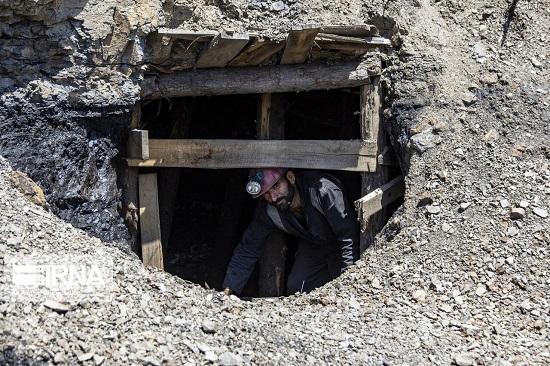 تصاویری از کارگران معدن به مناسبت روز کارگر