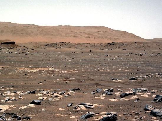 تصاویری شگفتانگیز از سطح مریخ